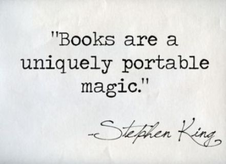 Books are magic