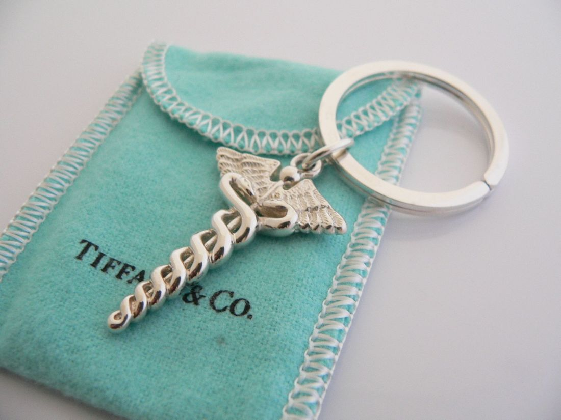 Beautiful tiffany co keychain great idea for grad