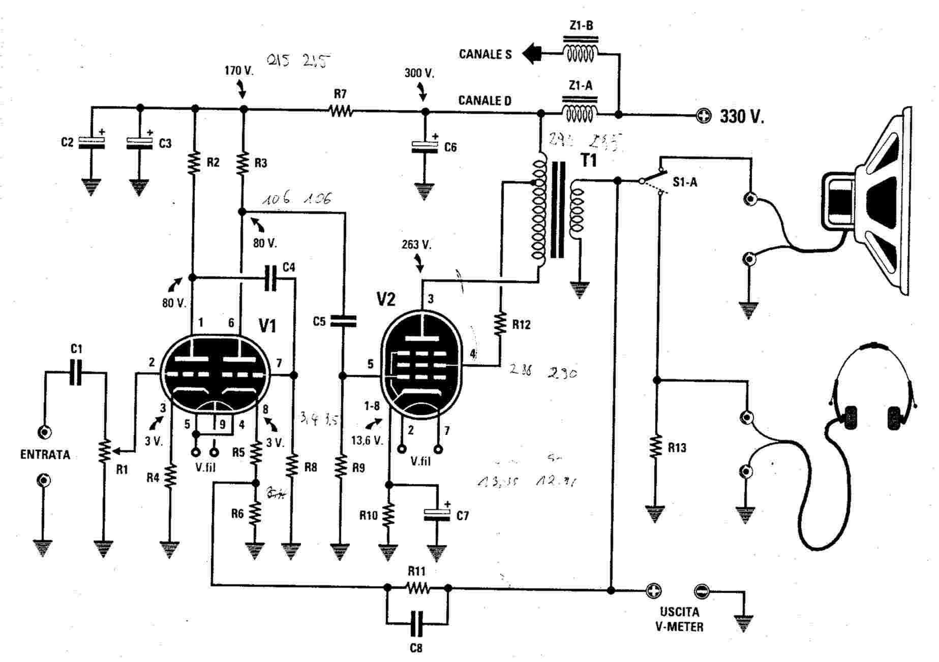 Ampli Hybride Tubes Transistors