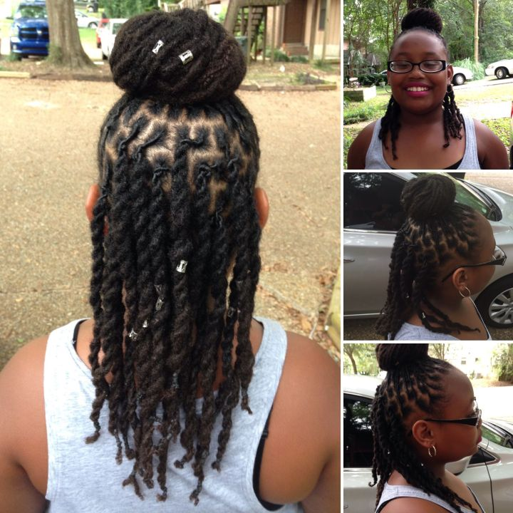 Kids with Locs My baby at 2 1 2 years strong