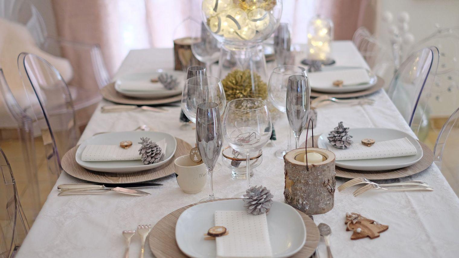 Faire Une Table De Nol Chic Et Simple Table De Nol