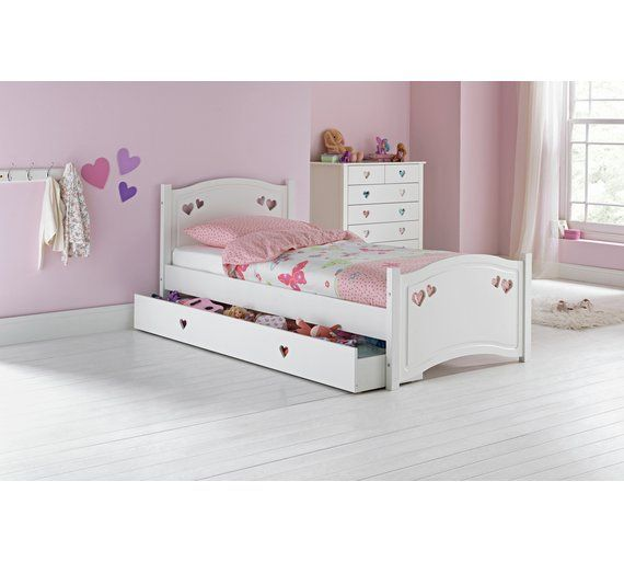Collection Mia Single Bed Frame White At Argos Co Uk Visit
