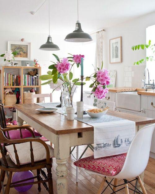 39 original boho chic dining room designs digsdigs dining pinterest dining room design on boho chic kitchen table decor id=90912