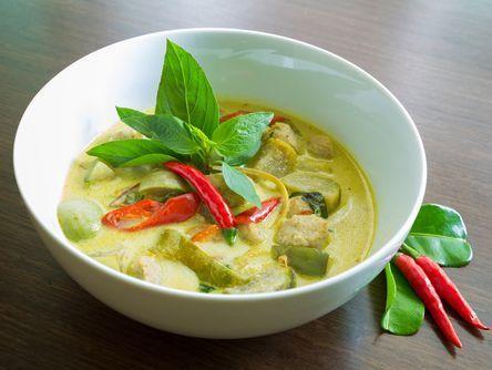 Veg Thai Green Curry | Photo Courtesy: The Spruce