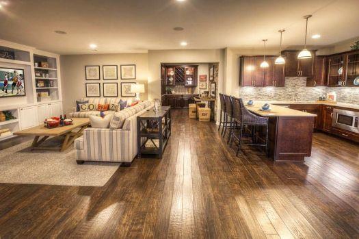 Kitchen Family Room Open Floor Plan