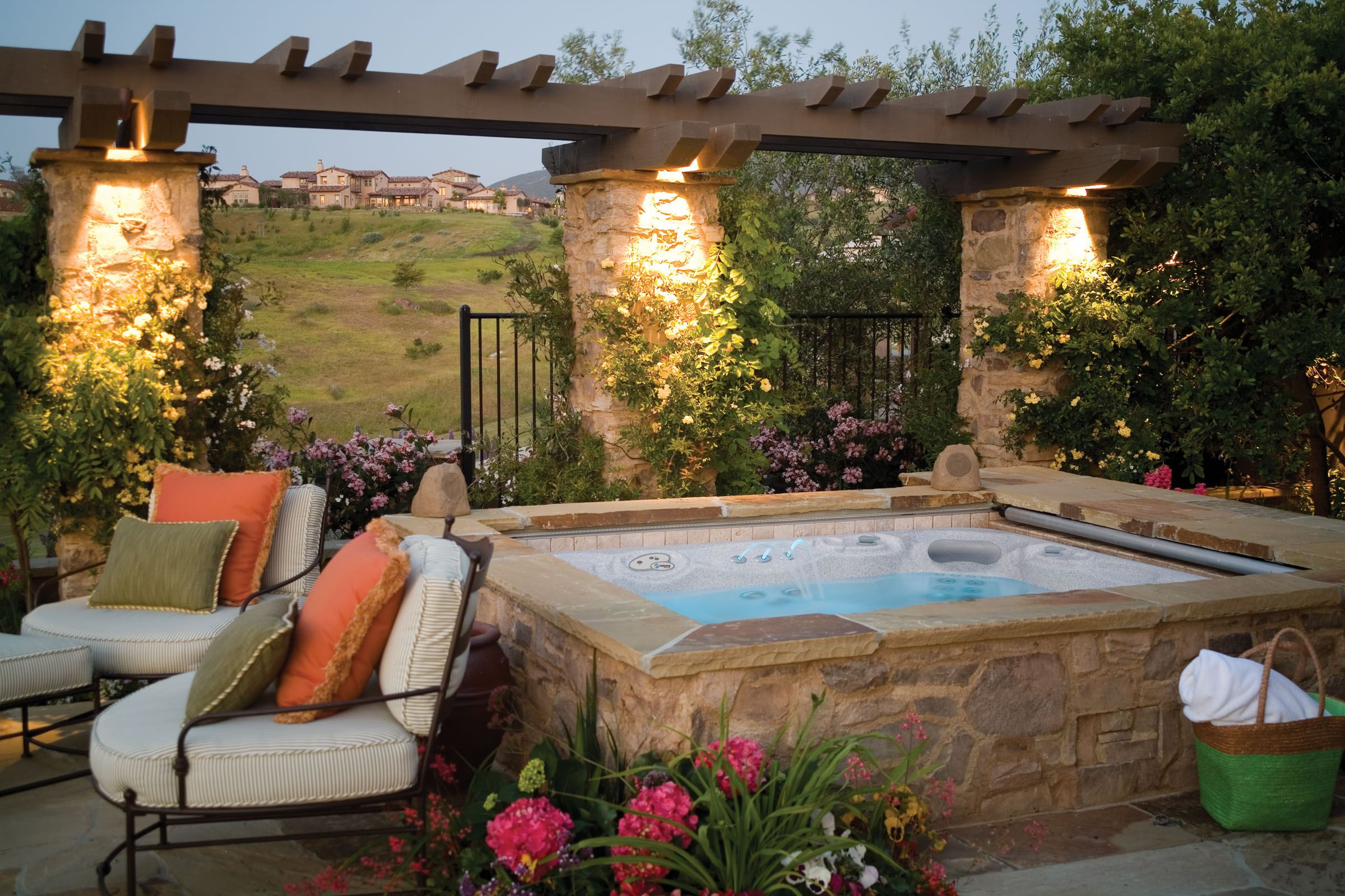 make your backyard beautiful by surrounding a on stunning backyard lighting design decor and remodel ideas sources to understand id=72976