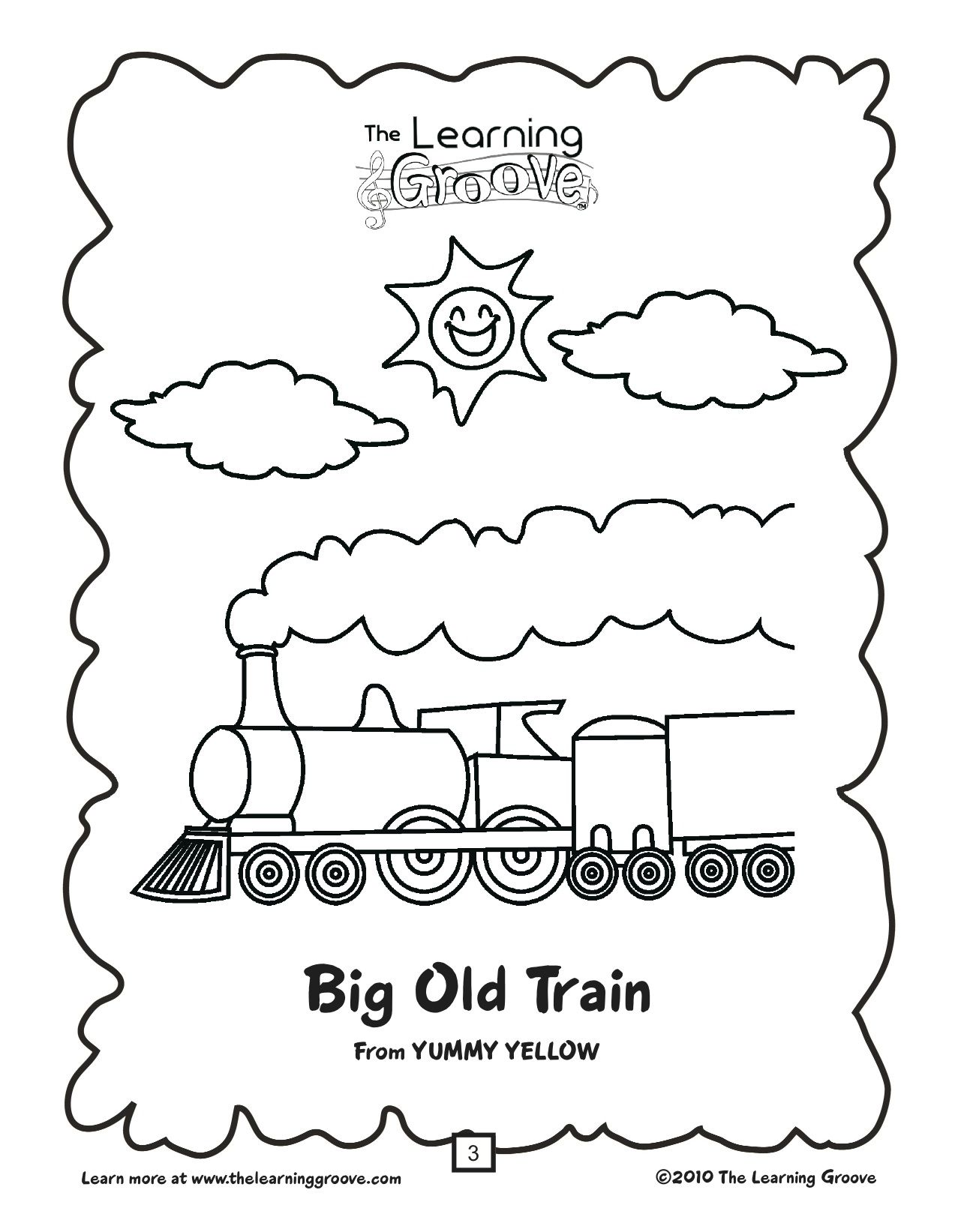 This Would Be Great For A Unit On Trains And Transportation A Song 2 Ways To Use The Song With