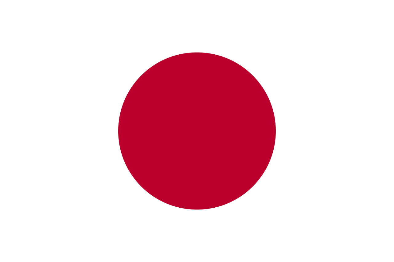 Above Is Japan S Flag The Red Disc In The Middle