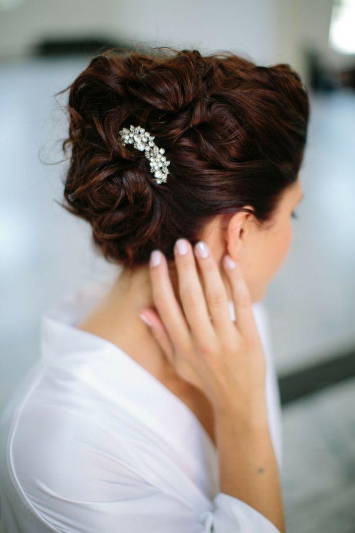 wedding hair updos for long hair I like the dark hair With the