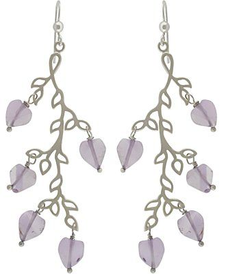 Silver Branch Chandelier Earring Are Easy To Make With Findings From Nina Designs