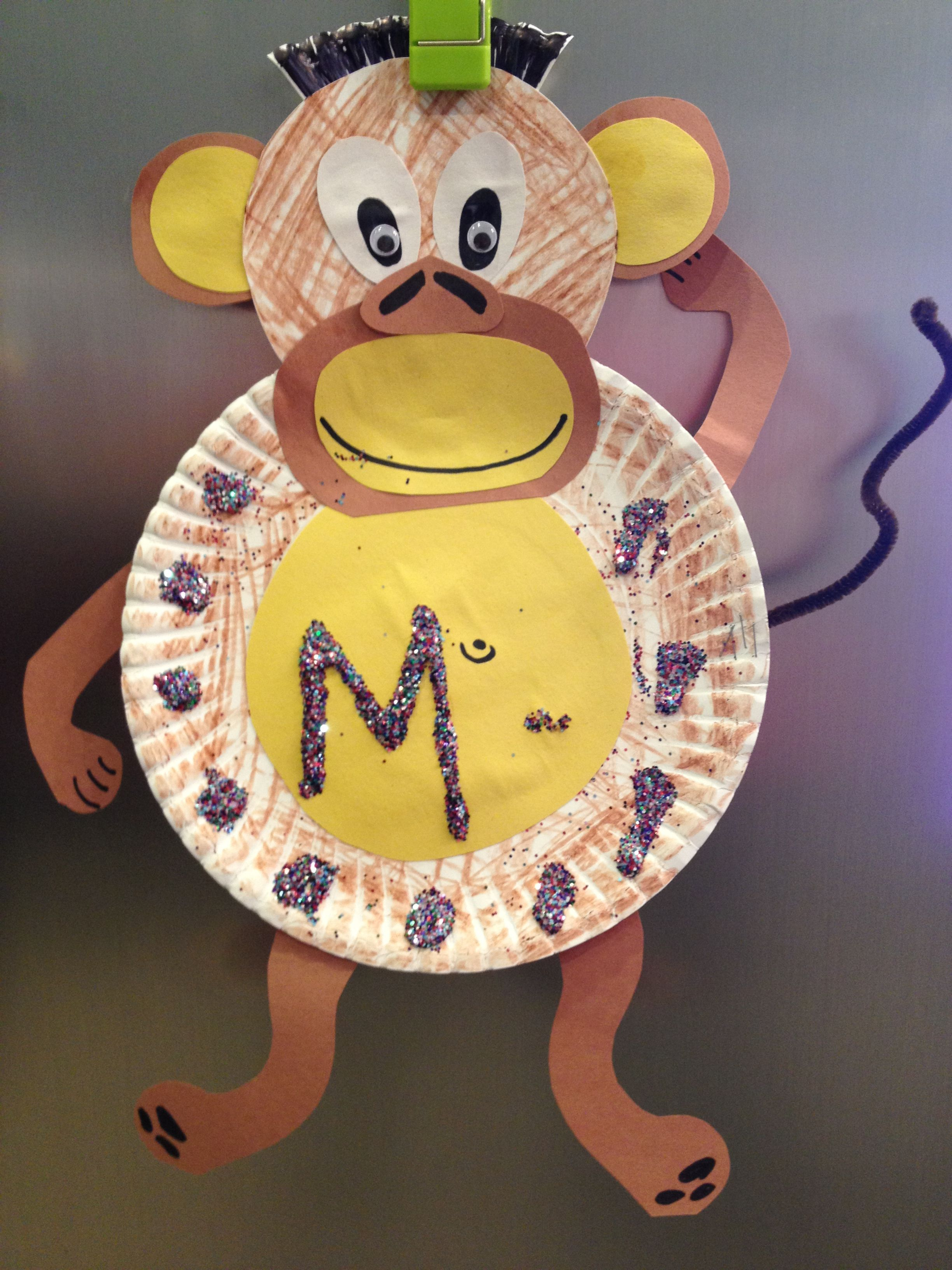 M Is For Monkey Letter Activity