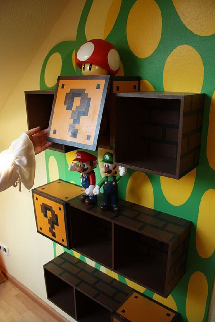 Really awesome idea to do when Abby gets into playing video games