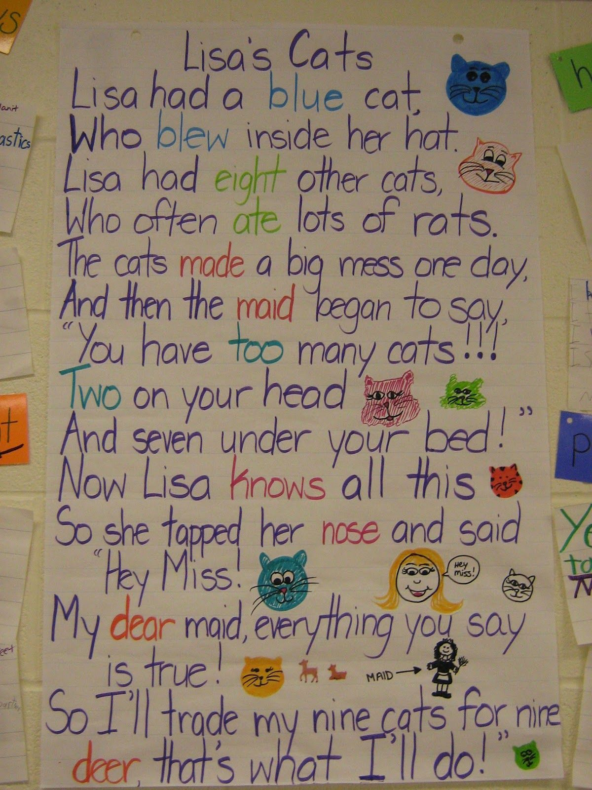 Mrs Champsi S Champions Of Learning Homophone Poem