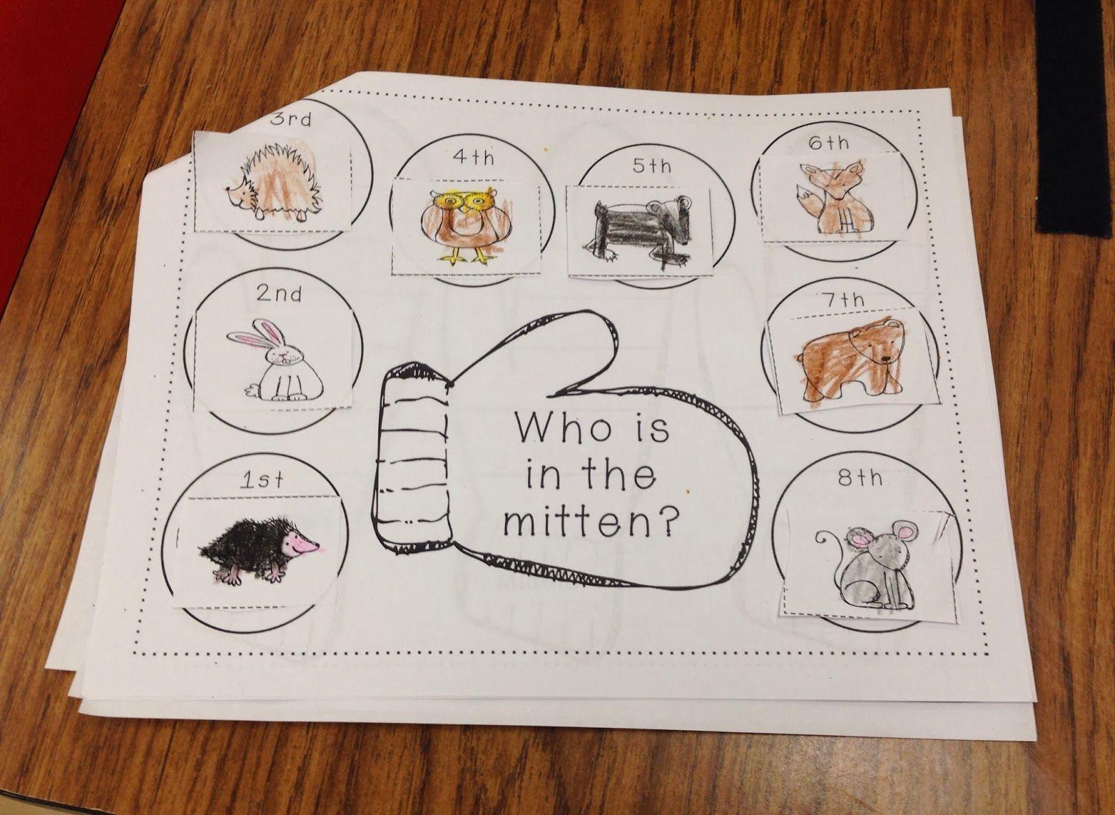 The Mitten Unit Full Of Math Writing Amp Literacy Activities