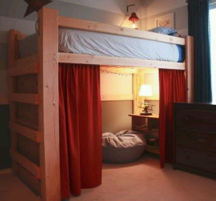 Loft Beds A Great In A Dorm Room For The Home Pinterest Am I Am And Bed In