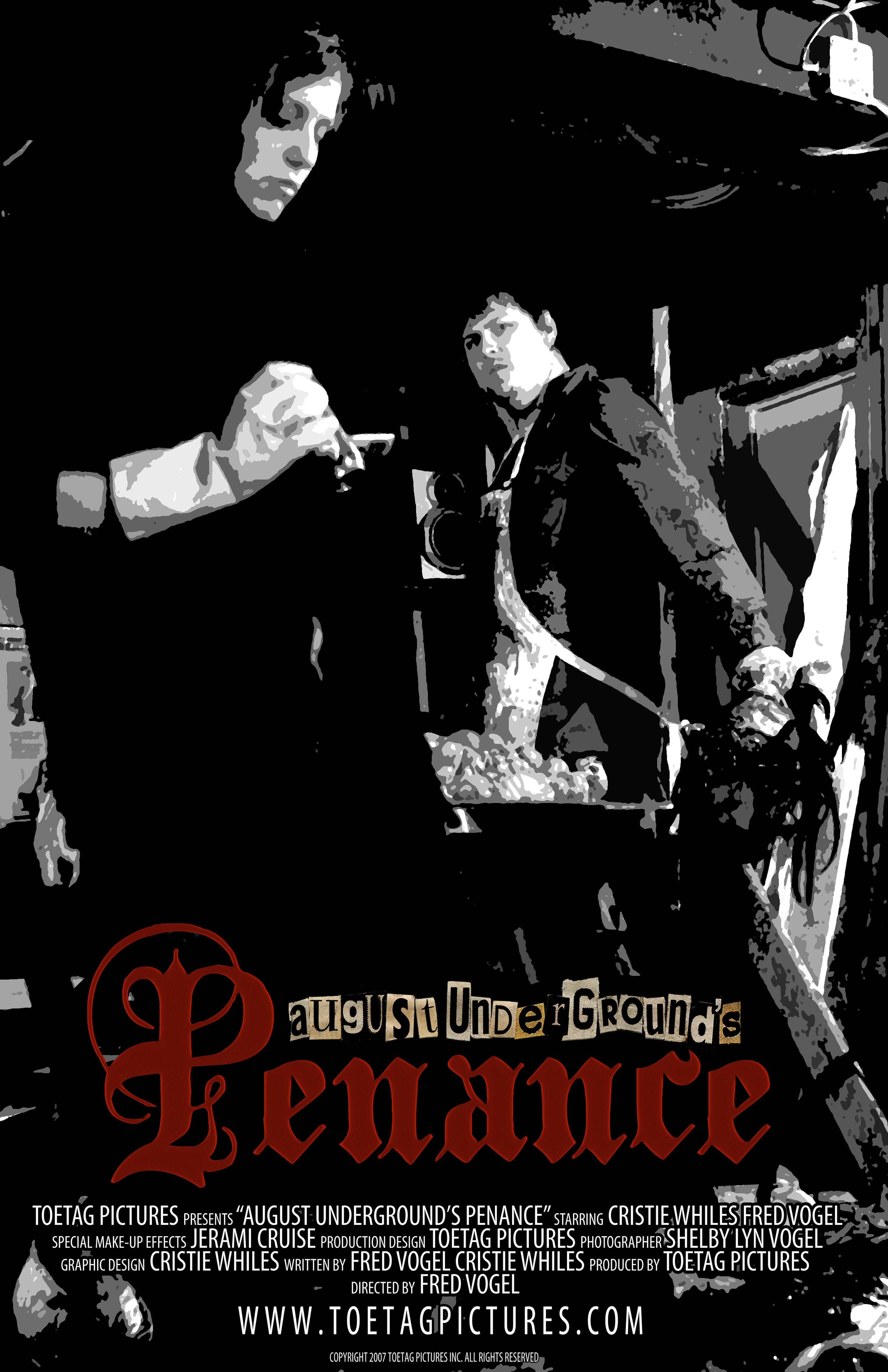 Poster do filme August Undergrounds Penance