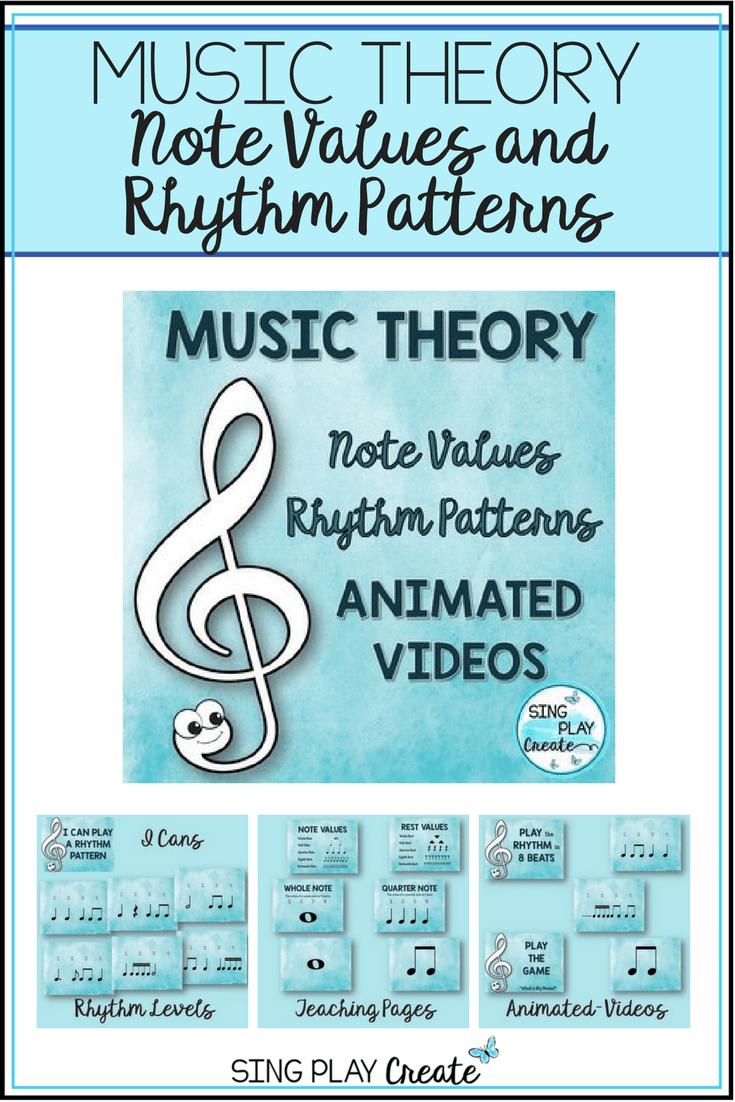 Music Y E V Lues Rhythms Less S G Mes W Ksheets