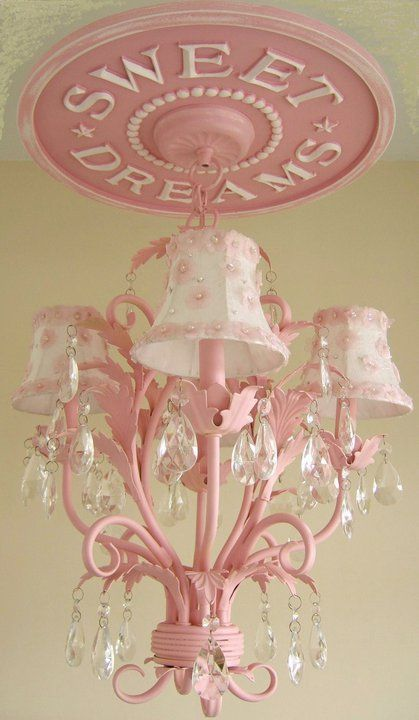 Beautiful Chandelier And Love That Sweet Dreams