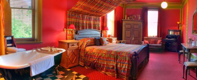 Colorful Indian Inspired Bedroom Unique