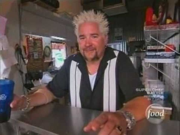 Image result for diners drive ins and dives cecilia's cafe