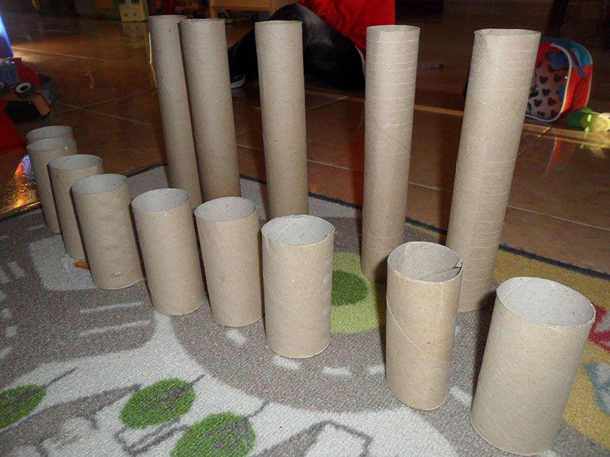 7 Actividades con Tubos de Cartón Educativas (2/6)