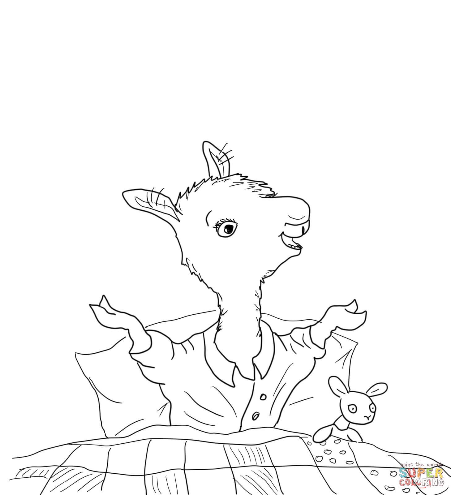 Llama Llama Home With Mama Coloring Page From Llama Llama