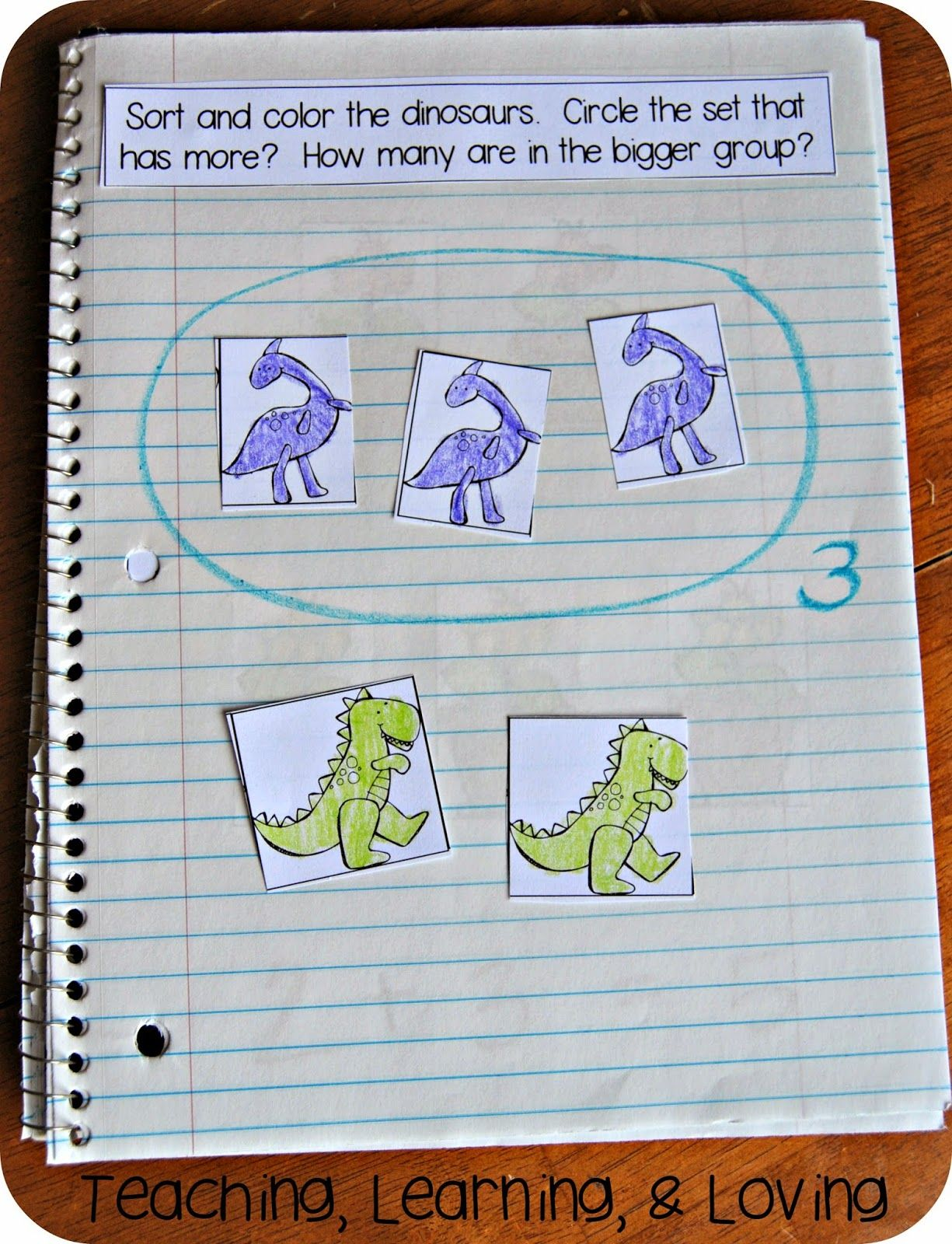 Interactive Math Journals For Pre K