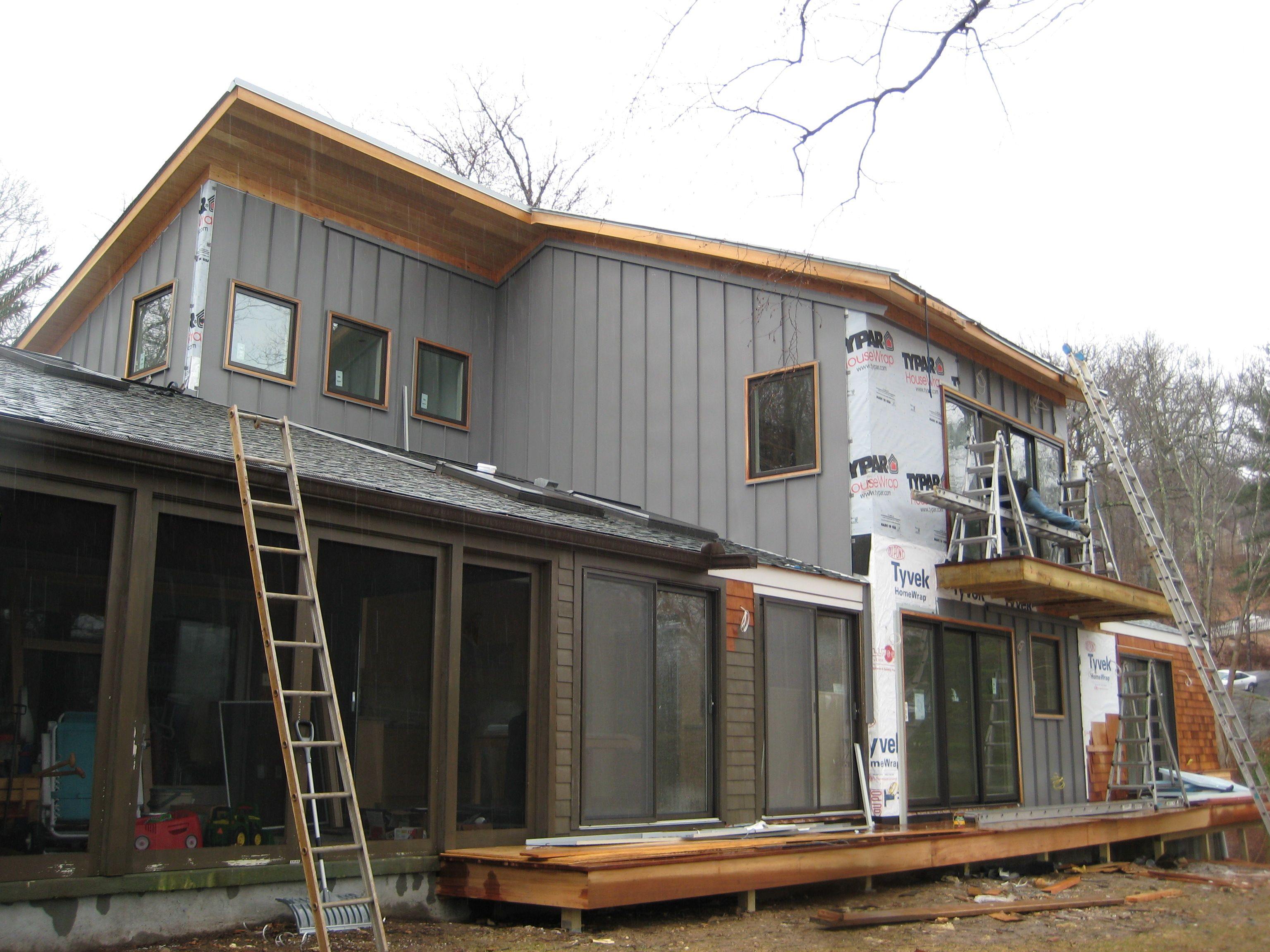 modern house metal siding - Modern House on Modern House Siding  id=55295