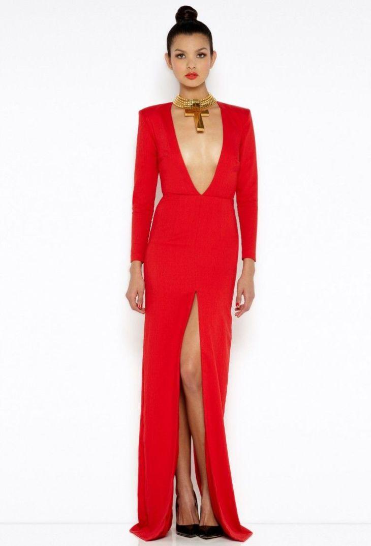 Patsy Red Long Sleeved Maxi Dress Надо купить Pinterest