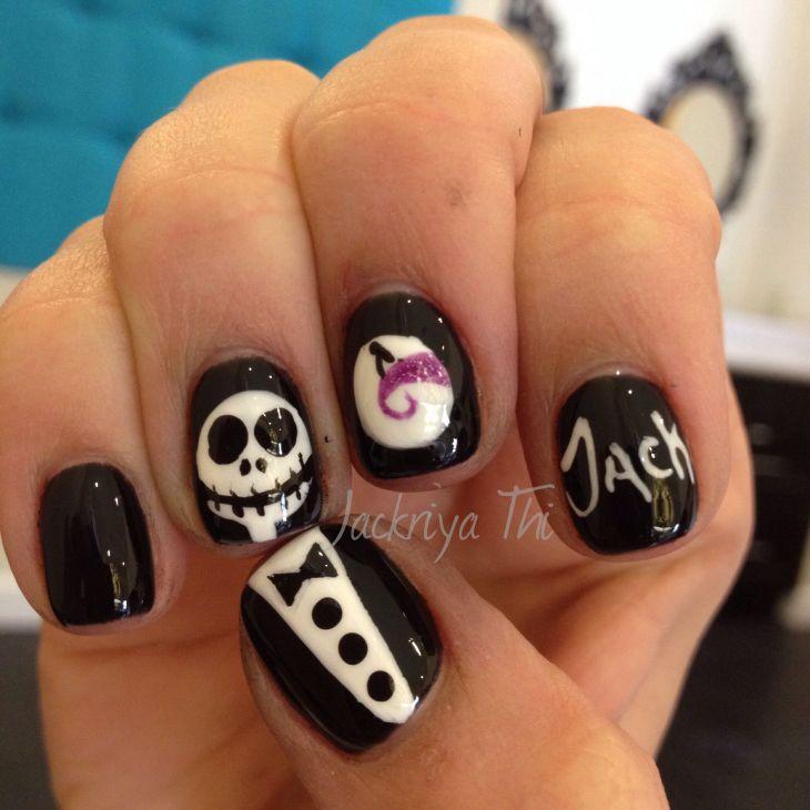 Halloween nail art Nails Polish u Toes Pinterest Polished toes