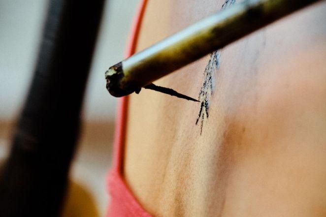 Tap Stick tattoo