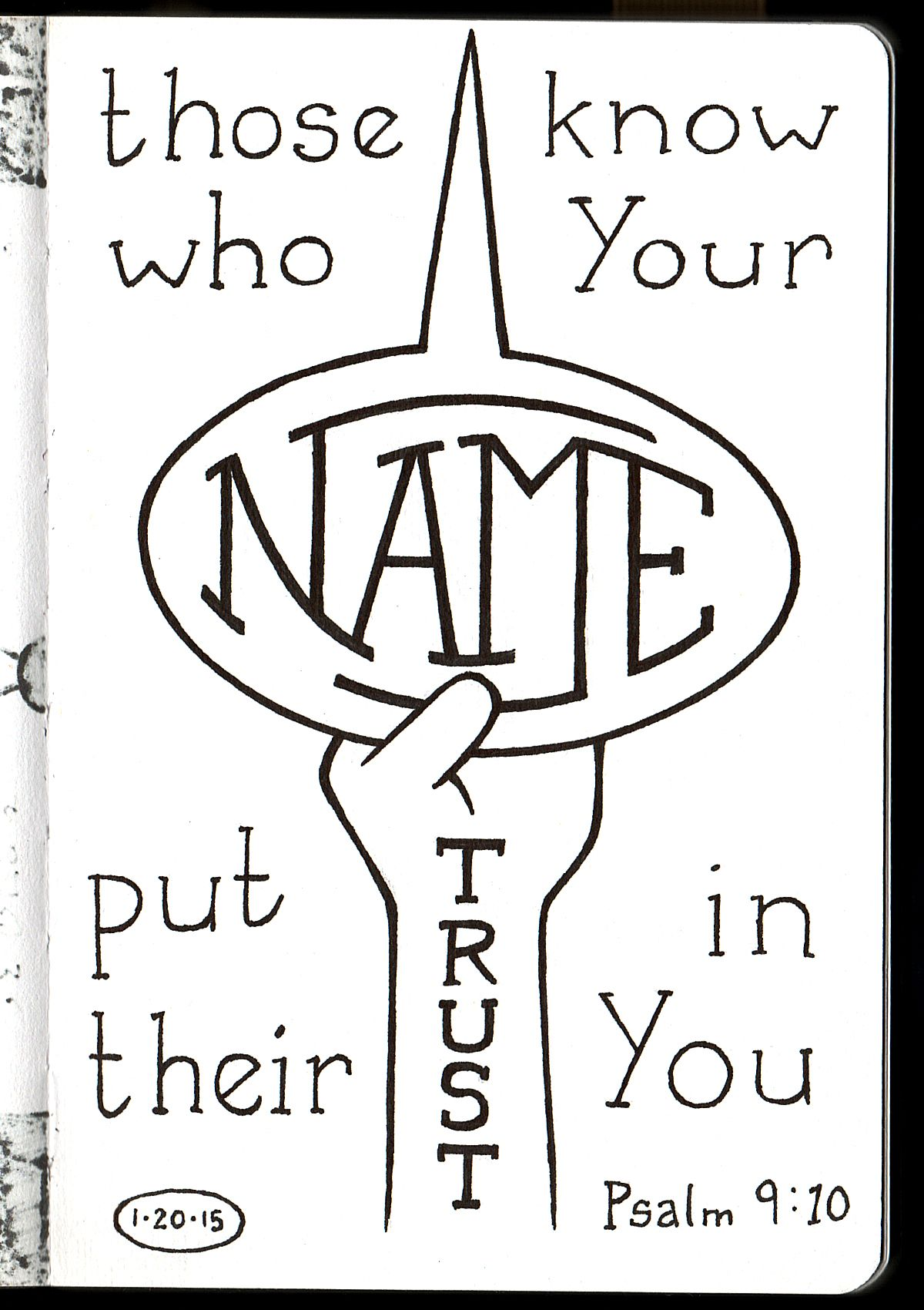 Those Who Know Your Name Put Their Trust In You Psalm 9