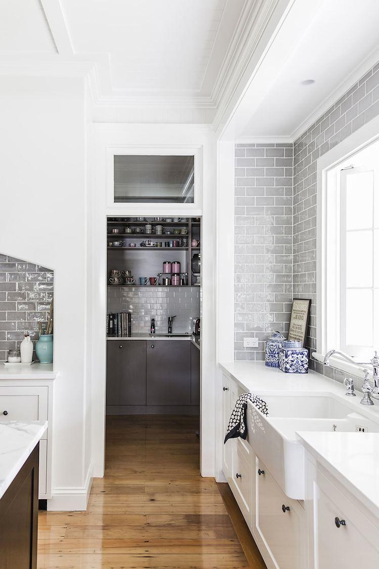 interiors hamptons style home dust jacket bloglovin kitchen pinterest grey subway on kitchen interior queenslander id=26546