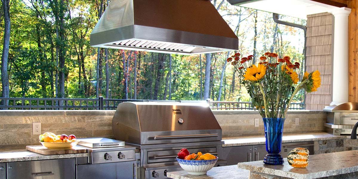 outdoor vent hood outdoor cooking pinterest vent hood backyard kitchen and carriage house on outdoor kitchen ventilation id=65737