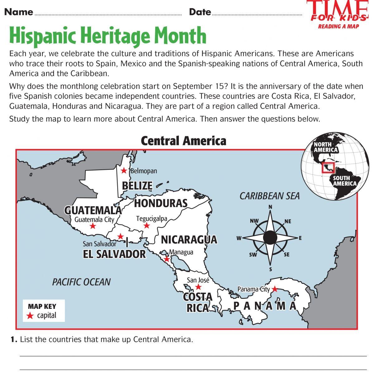 Printables For Hispanic Heritage Month