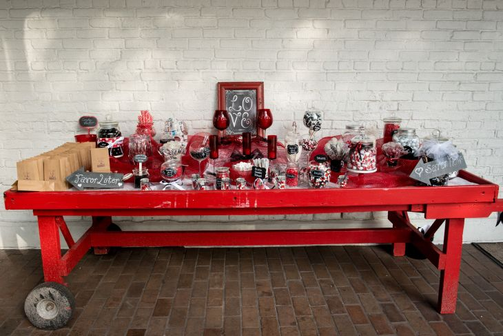 Red u White Candy Bar at Ybor City Museum State Park