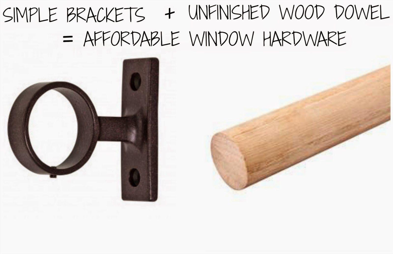 Best 25 Wooden Curtain Rods Ideas