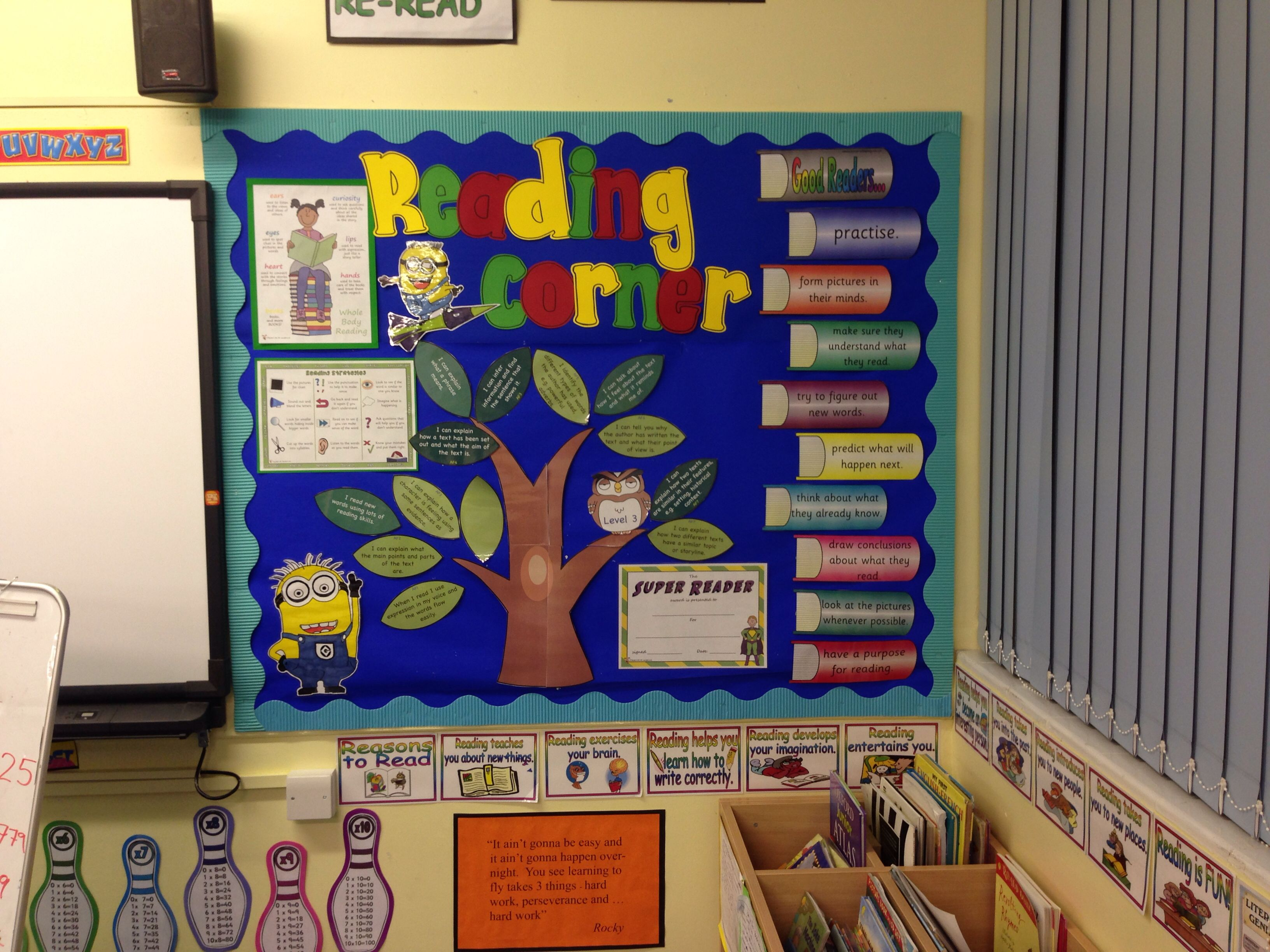 Reading Corner Display Ks2