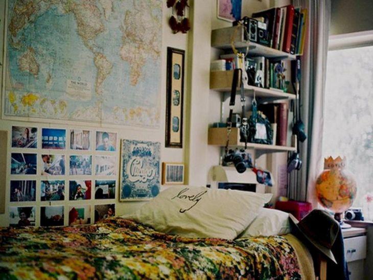 Nice Cute DIY Hipster Bedroom Decorations Ideas
