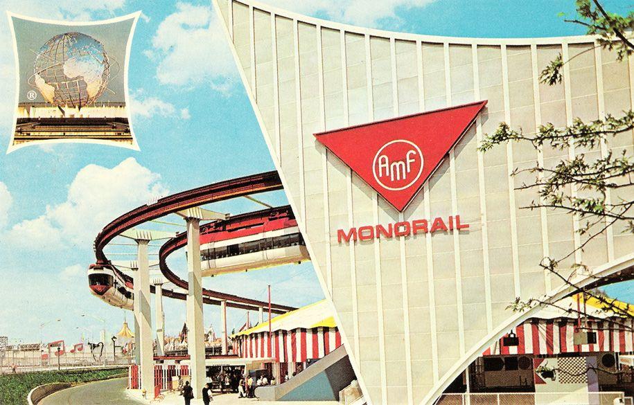 1964 New York World's Fair Monorail.