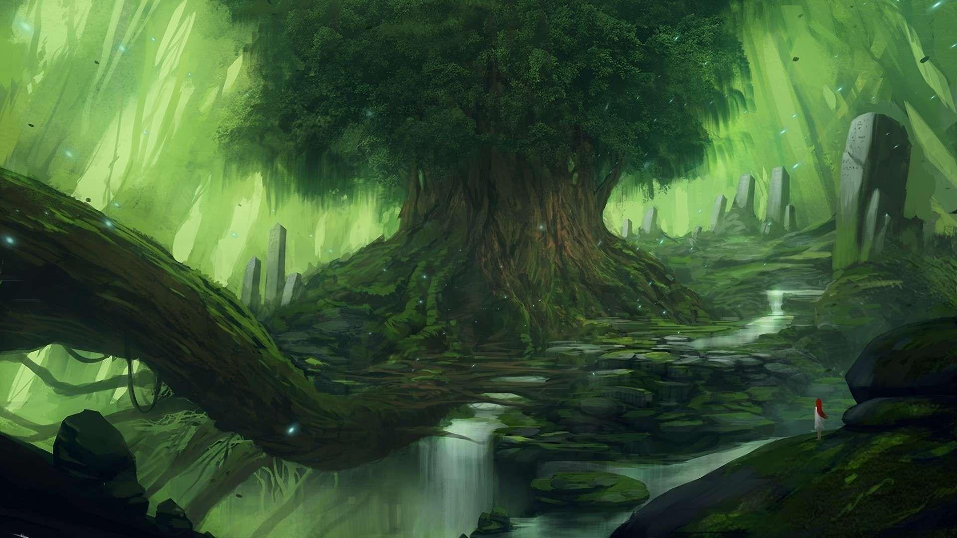 fantasy forest wallpaper images #tdh4b ~ wallove | fantasy