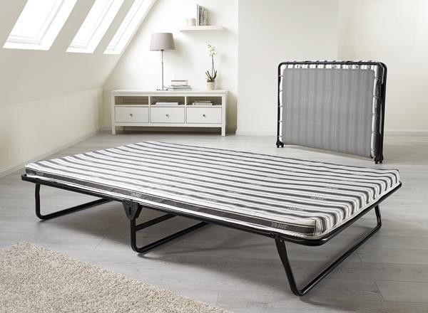 Jay Be Value Comfort Double Folding Guest Bed With Breathable Fibre Mattress