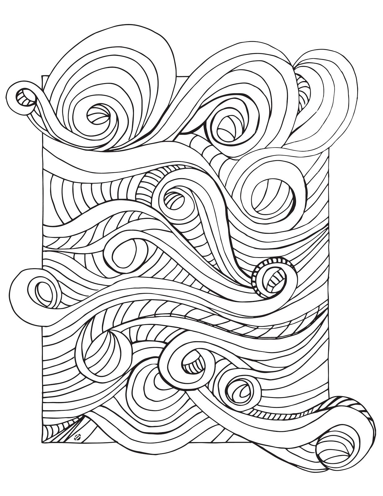 Tsunami Coloring Sheets