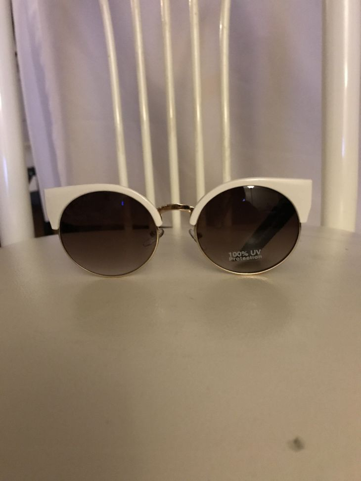 White Cat Eyes Sunglasses White cats Cat eyes and Products