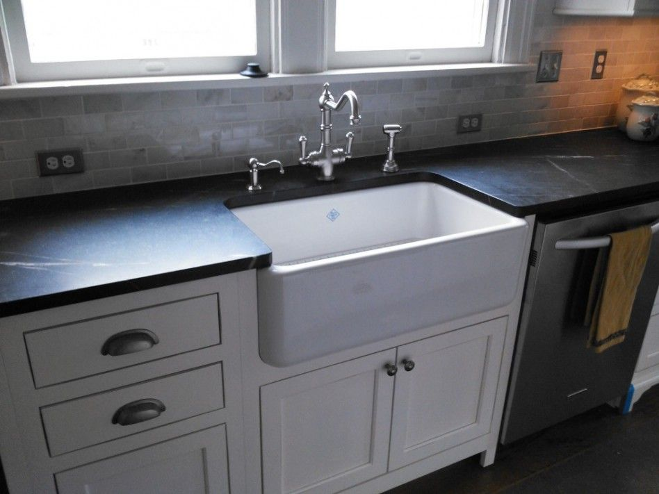 white farmhouse kitchen sink along with black granite counter tops kitchen pinterest on farmhouse kitchen granite countertops id=17655
