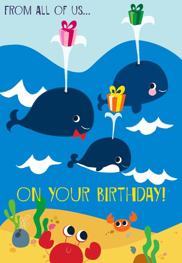 From all of uson your birthday tjn happy birthday