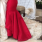 Red gala prom dress gown prom jovani dresses and heart shapes