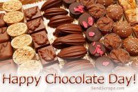happy chocolate day friends