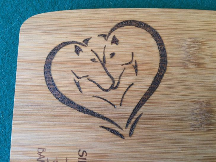 Horse heart cutting board Etsy shop Shops and Heart