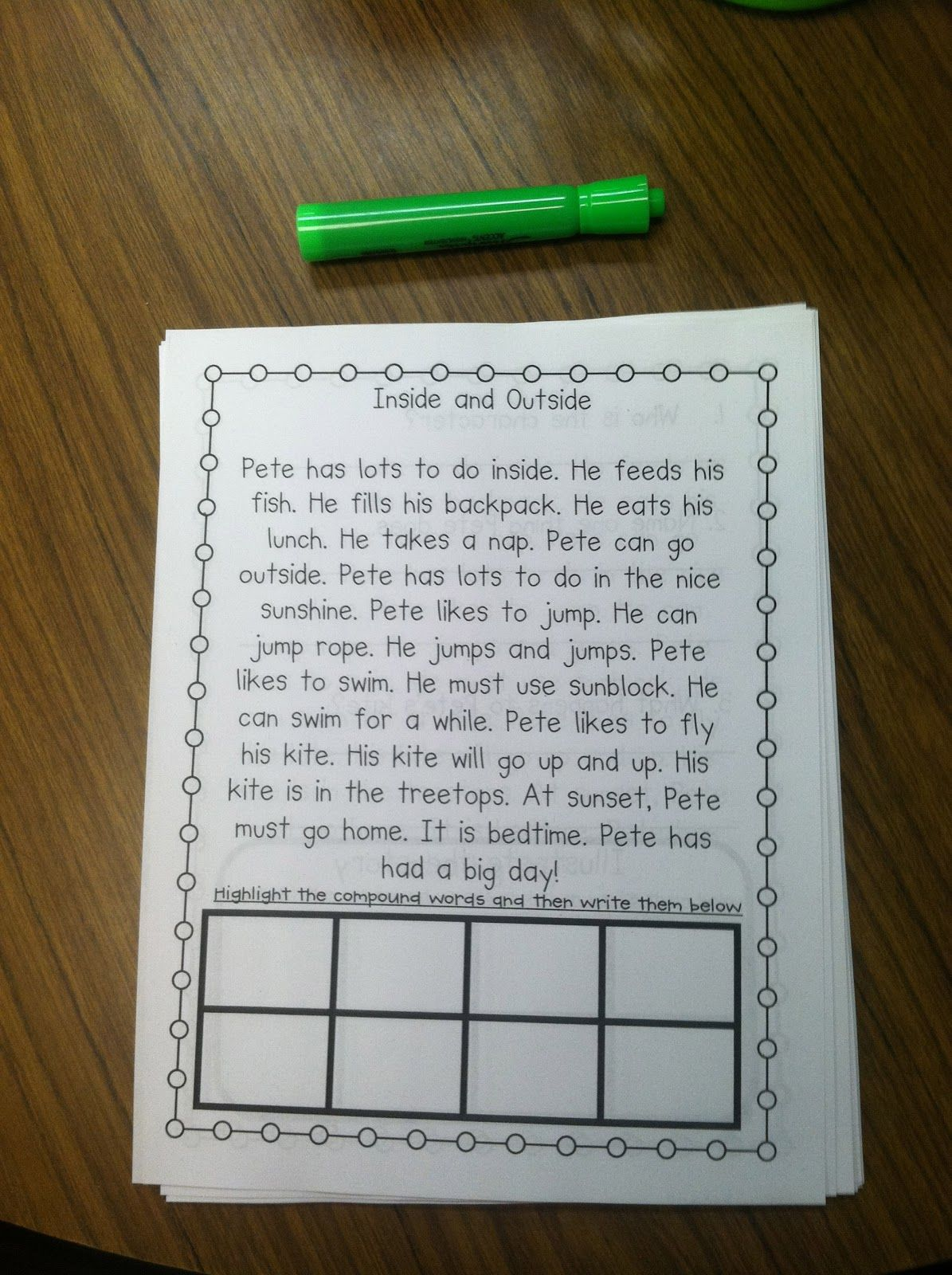 Life In First Grade Ing Stories From Decodable Readers